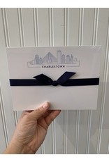 Light Blue Skyline Notepad