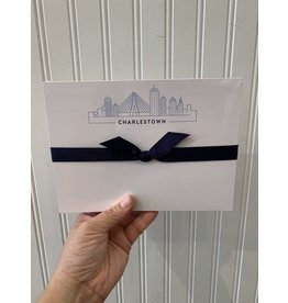 Light Blue Skyline Notepad