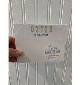Green Zip Code Mini Notepad