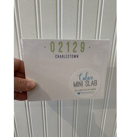 RoseanneBECK Collection Green Zip Code Mini Notepad