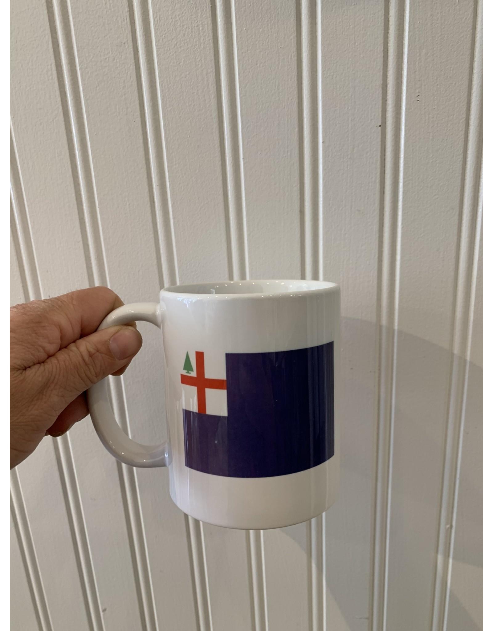 02129 & Bunker Hill Flag Mug