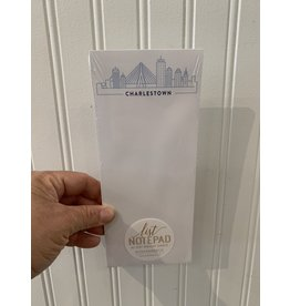 RoseanneBECK Collection Light Blue Skyline Skinny Notepad