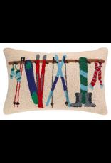 Peking Handicraft Winter Ski Rack Pillow