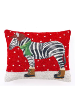 Peking Handicraft Zebra with Boots Pillow