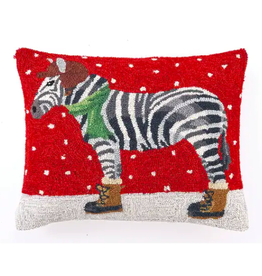 Peking Handicraft Zebra with Boots Pillow