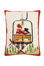 Peking Handicraft Ski Lift with Dog Pillow