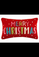 Peking Handicraft Merry Christmas Cheerful Pillow