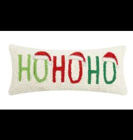 """Peking Handicraft Ho Ho Ho Pillow 8"""" x 20"""""""