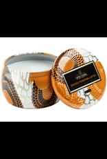 Voluspa Spiced Pumpkin Latte Petite Decorative Tin