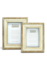 """Cowhide Frame with Stripes 4"""" x 6"""""""