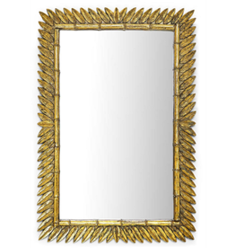 Golden Laurel Leaf Mirror