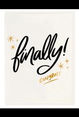 Dahlia Press Finally! Card