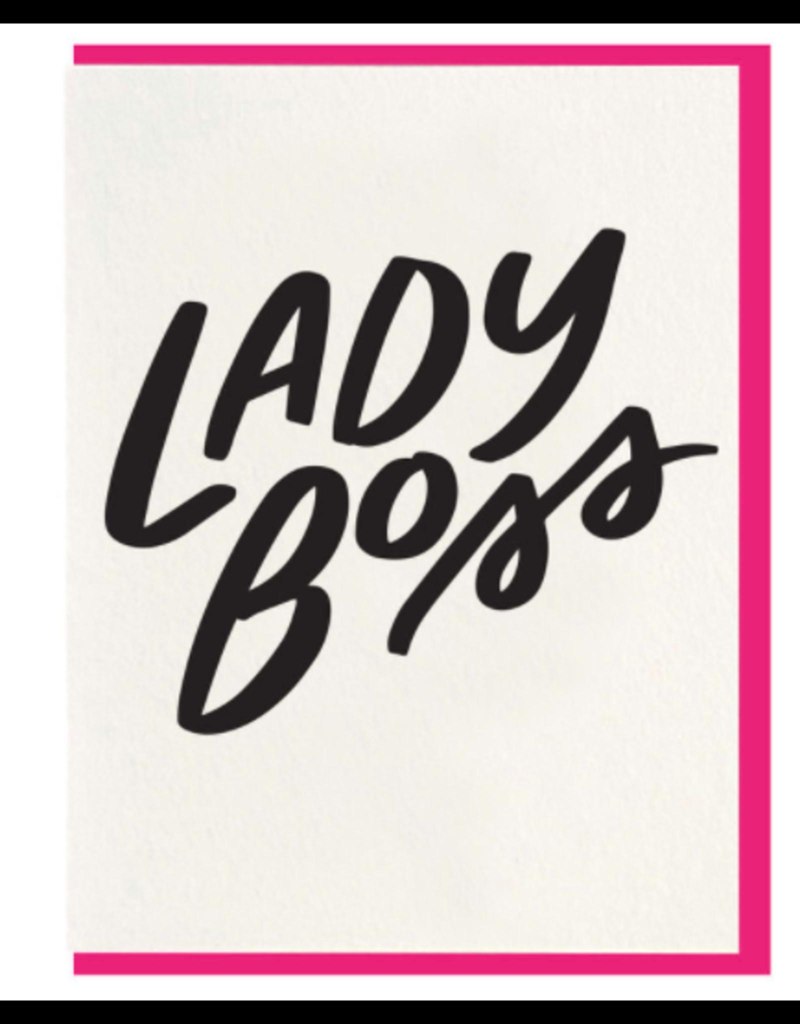 Dahlia Press Lady Boss Card