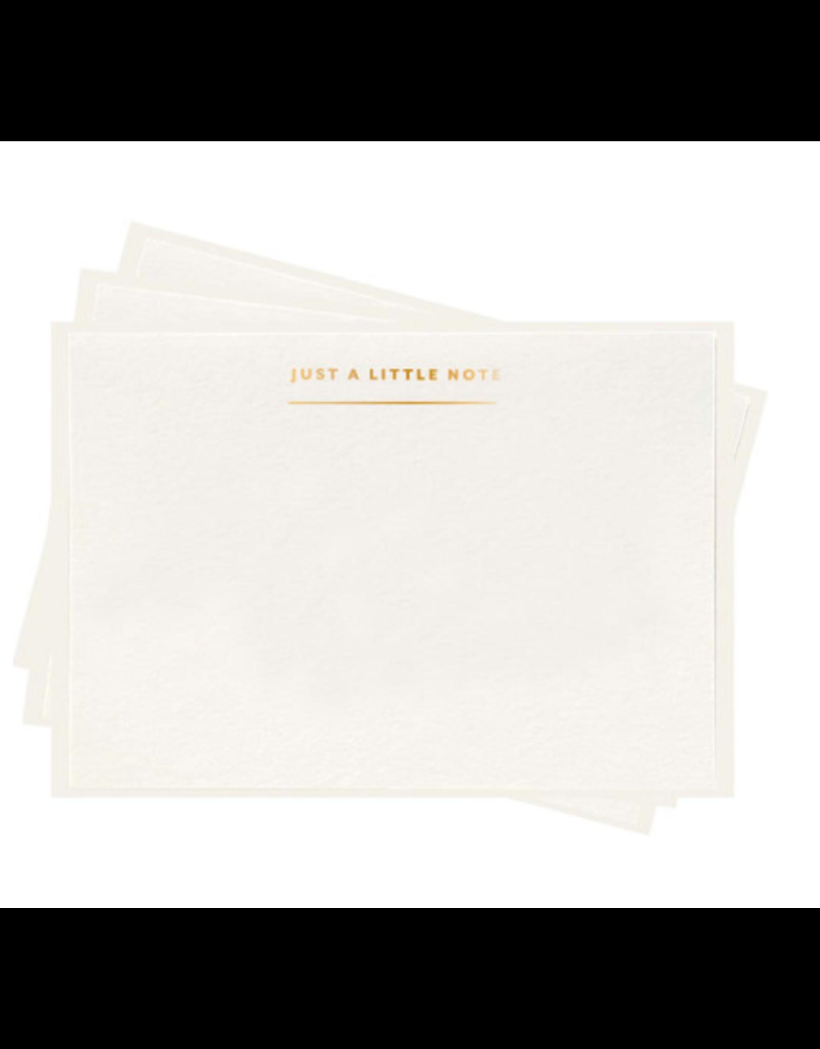 Dahlia Press Little Note Fancy Flat Set