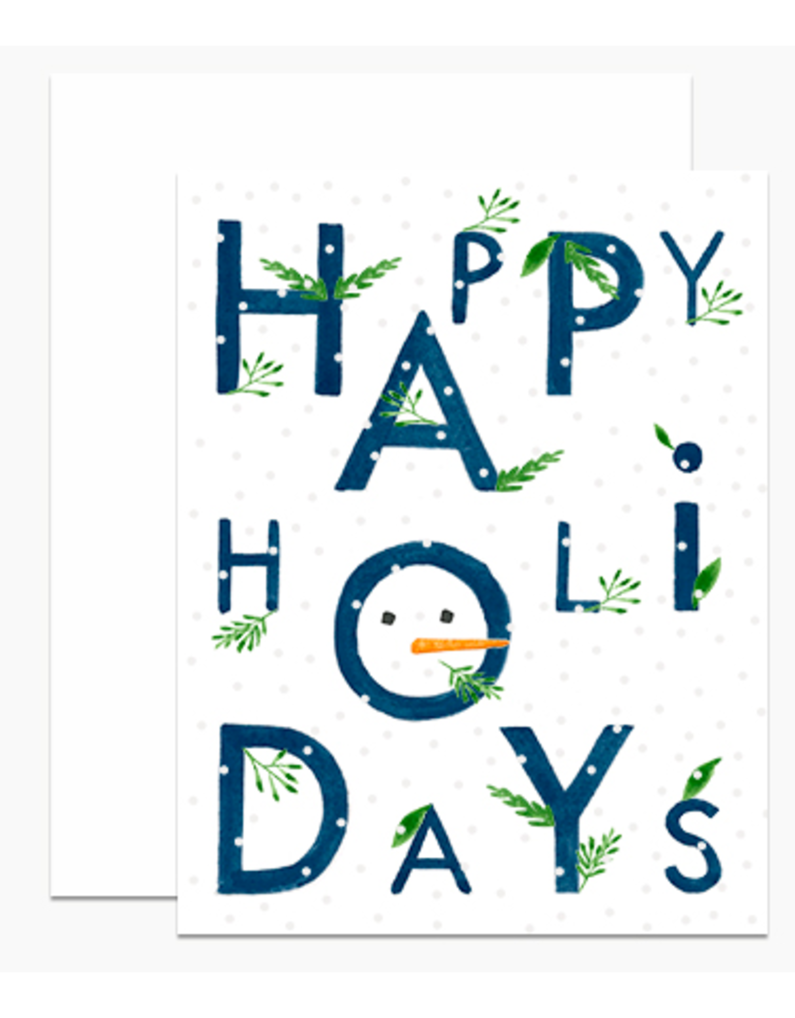 Dear Hancock Happy Holidays Text with Snow Boxed Set