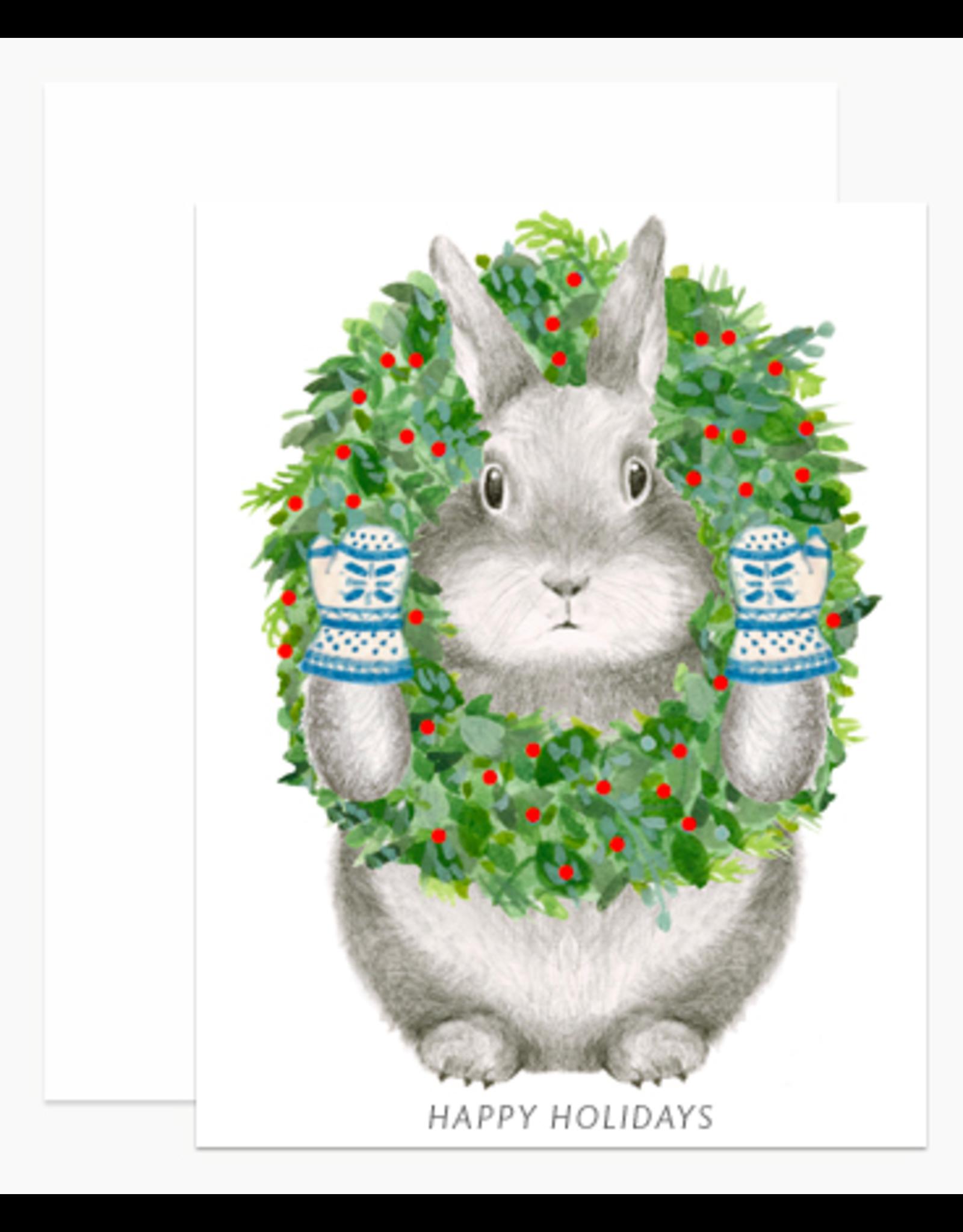 Dear Hancock Bunny with Wreath Boxed Set