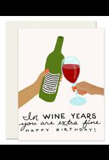 Wine Years Card