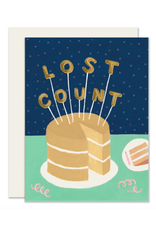 Slightly Stationery Lost Count Card