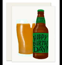 Slightly Stationery Hoppy Birthday Card