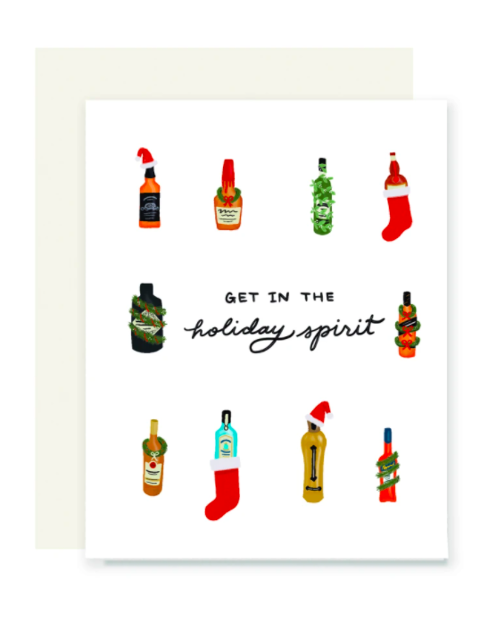 Holiday Spirits Card