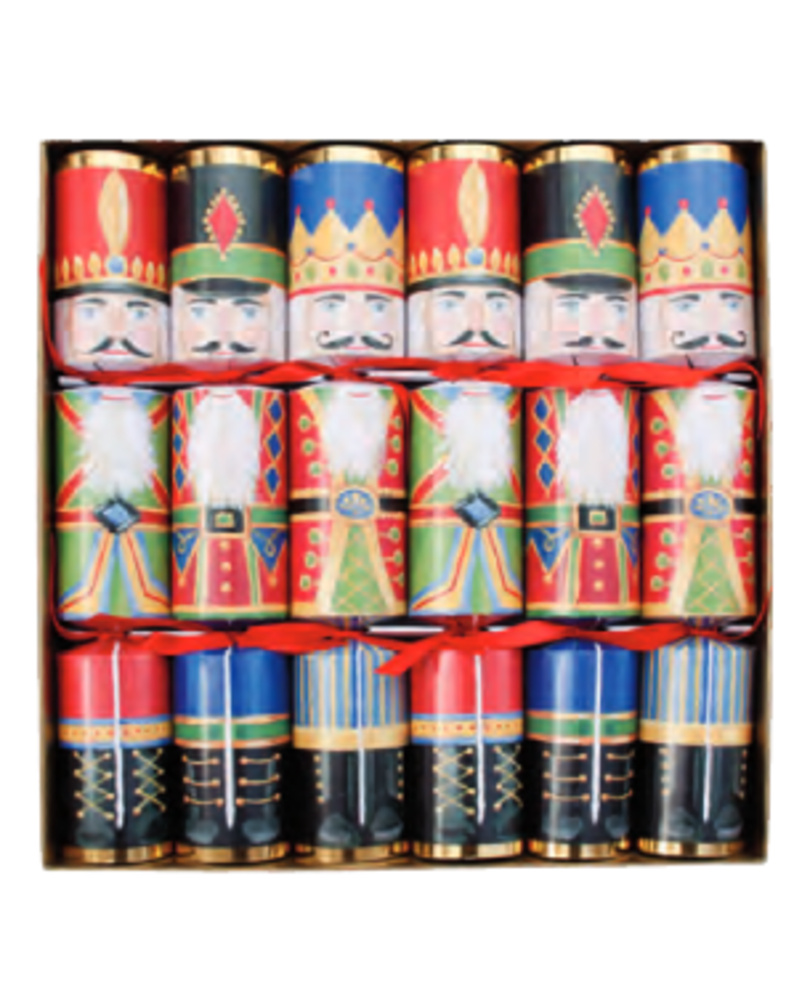 Caspari Nutcracker Christmas Crackers