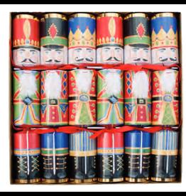 Caspari Nutcracker Christmas Crackers