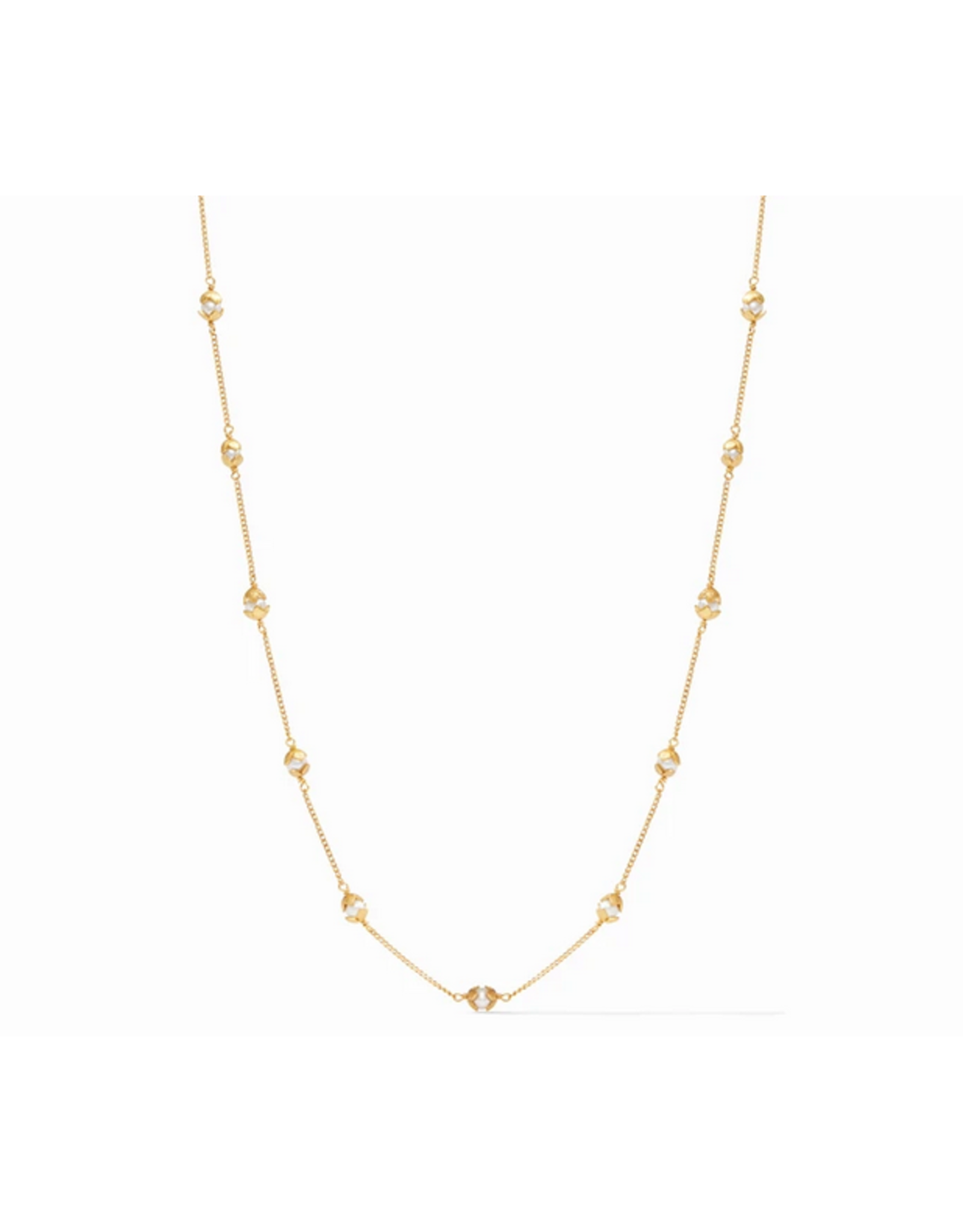 Julie Vos Penelope Delicate Station Necklace by  Julie Vos