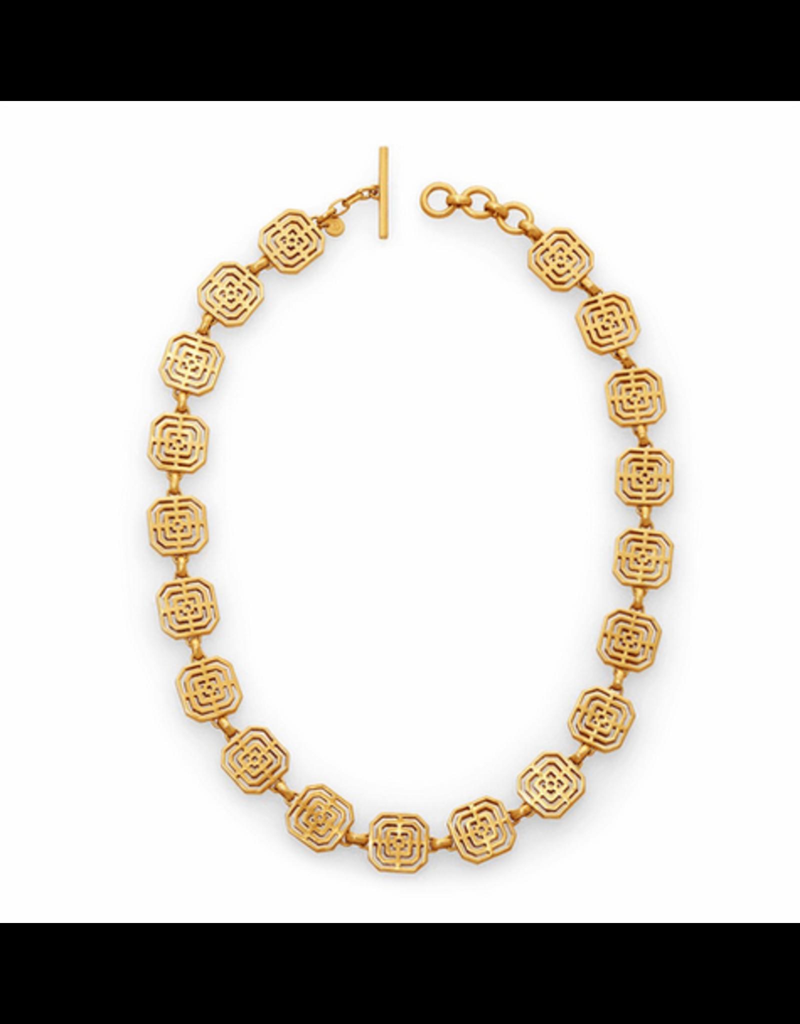 Julie Vos Geneva Necklace Gold by Julie Vos