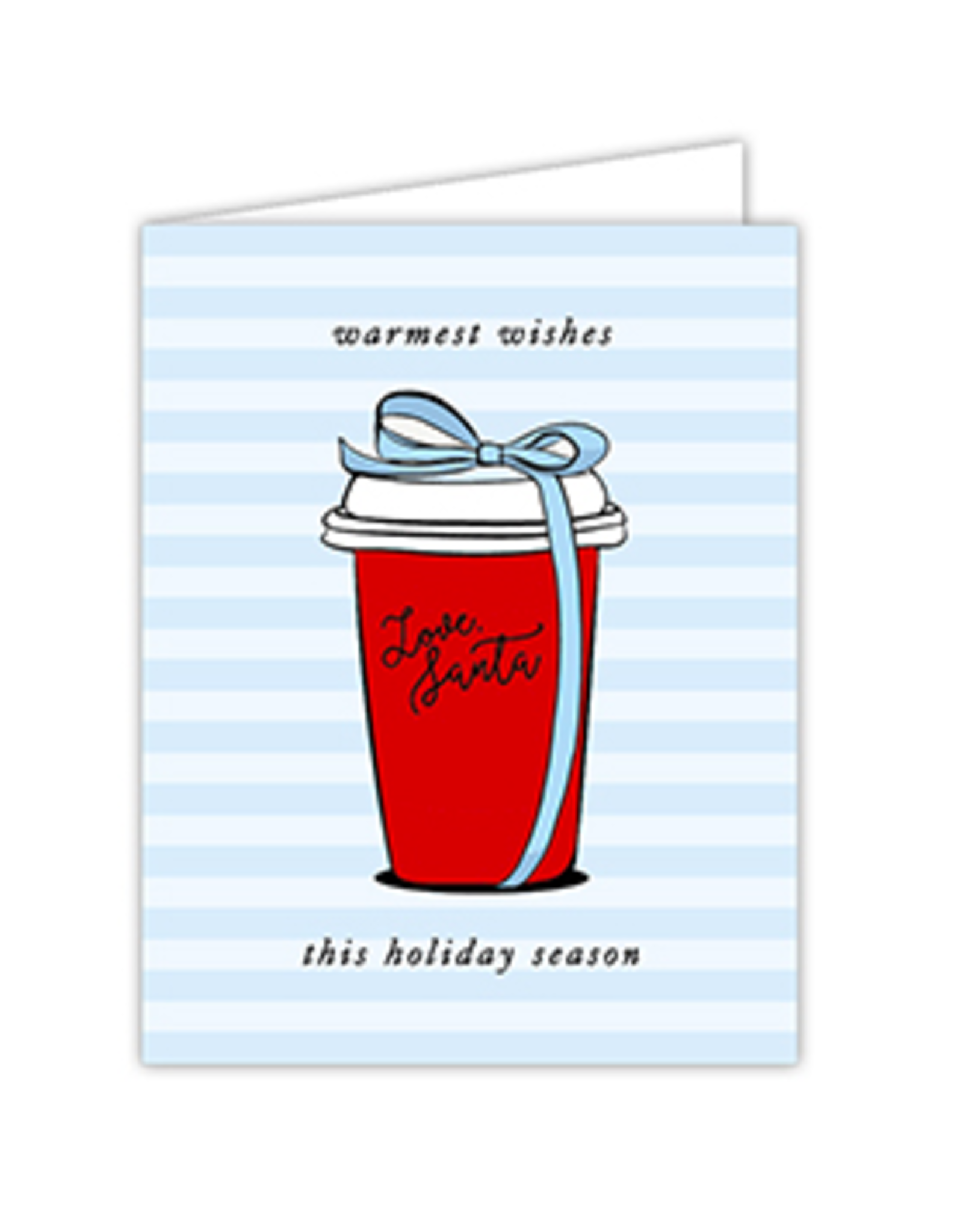 Warmest Wishes Coffee Cup Card