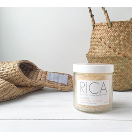 Rica Bath & Body Tub Salt Coconut Husk + Turbinado