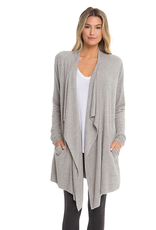 Barefoot Dreams CozyChic Lite Island Wrap in Pewter