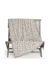 Barefoot Dreams CozyChic Safari Blanket in Cream Multi