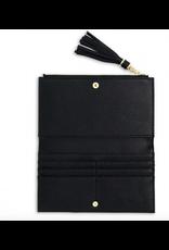 Katie Loxton Tassel Fold Out Wallet in Black