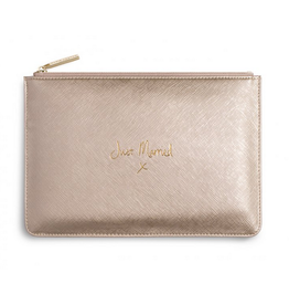 Katie Loxton Just Married Perfect Pouch in Gold