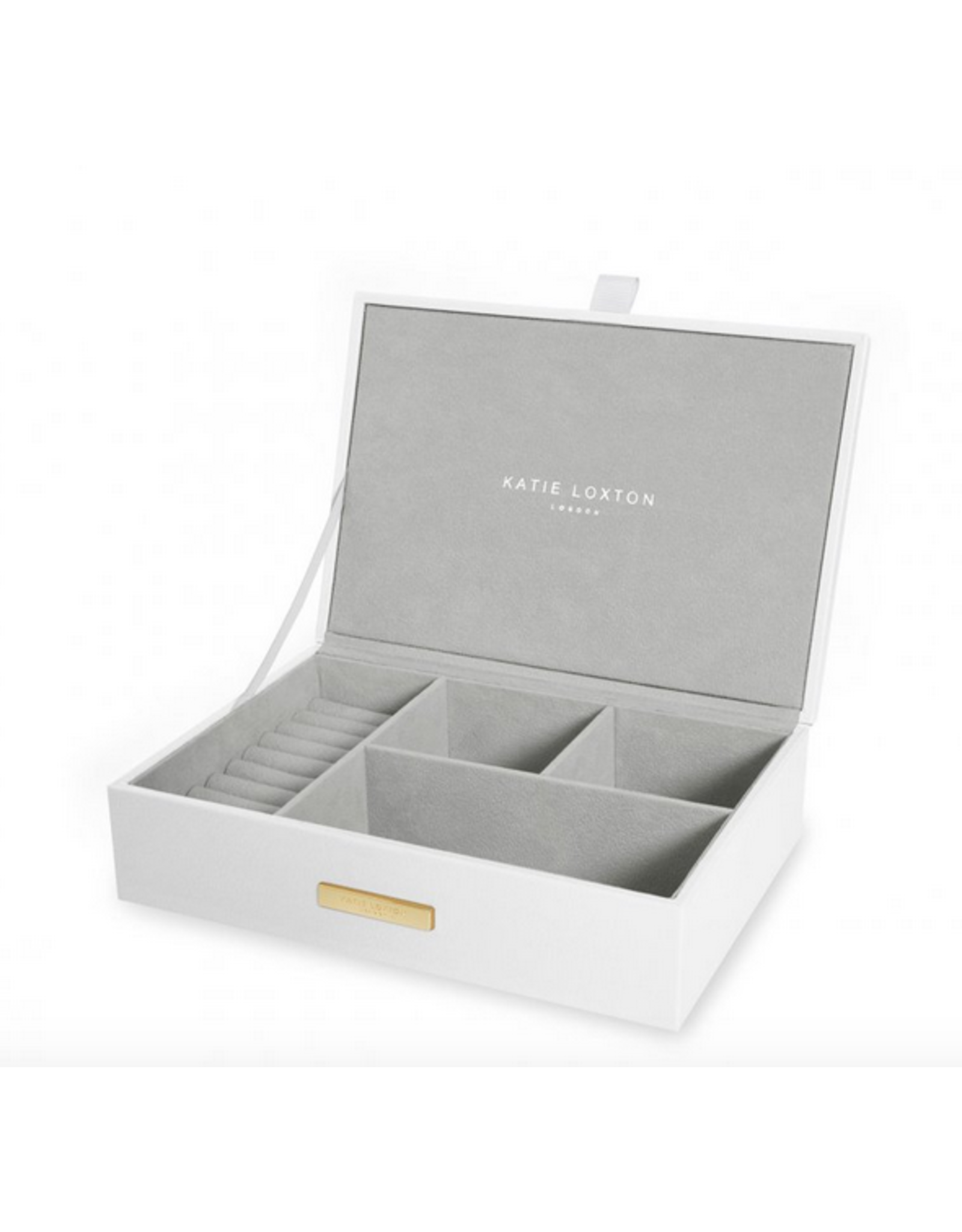 Katie Loxton Happily Ever After Jewelry Box in White