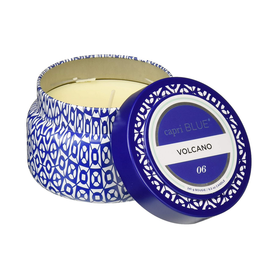 Capri Blue Volcano Printed Travel Tin