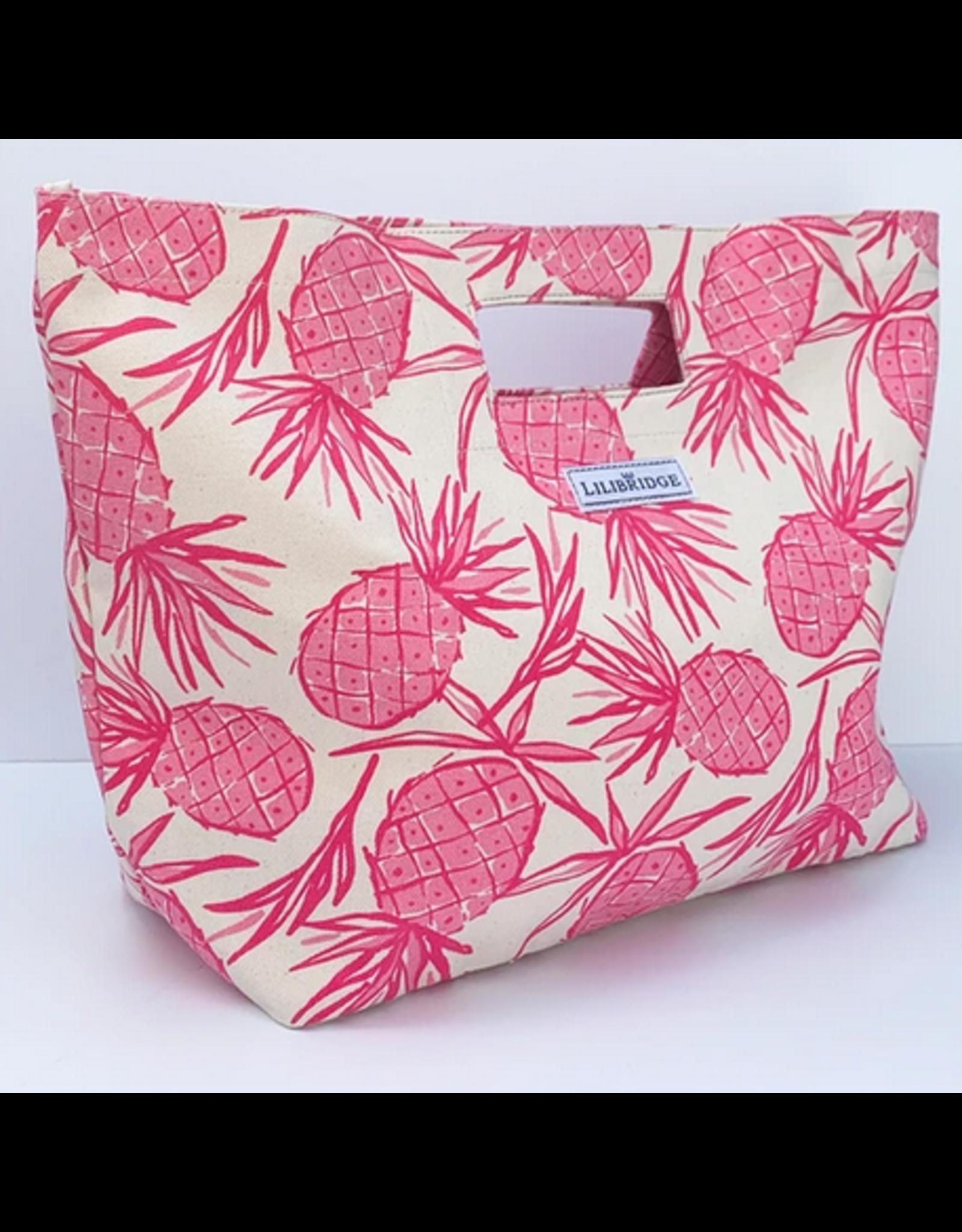 Lilibridge Pink Pineapple Bag by Lilibridge