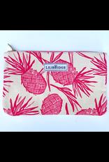 Lilibridge Pink Pineapple Clutch by Lilibridge