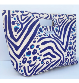 Lilibridge Zebra Cat Blue Bag by Lilibridge