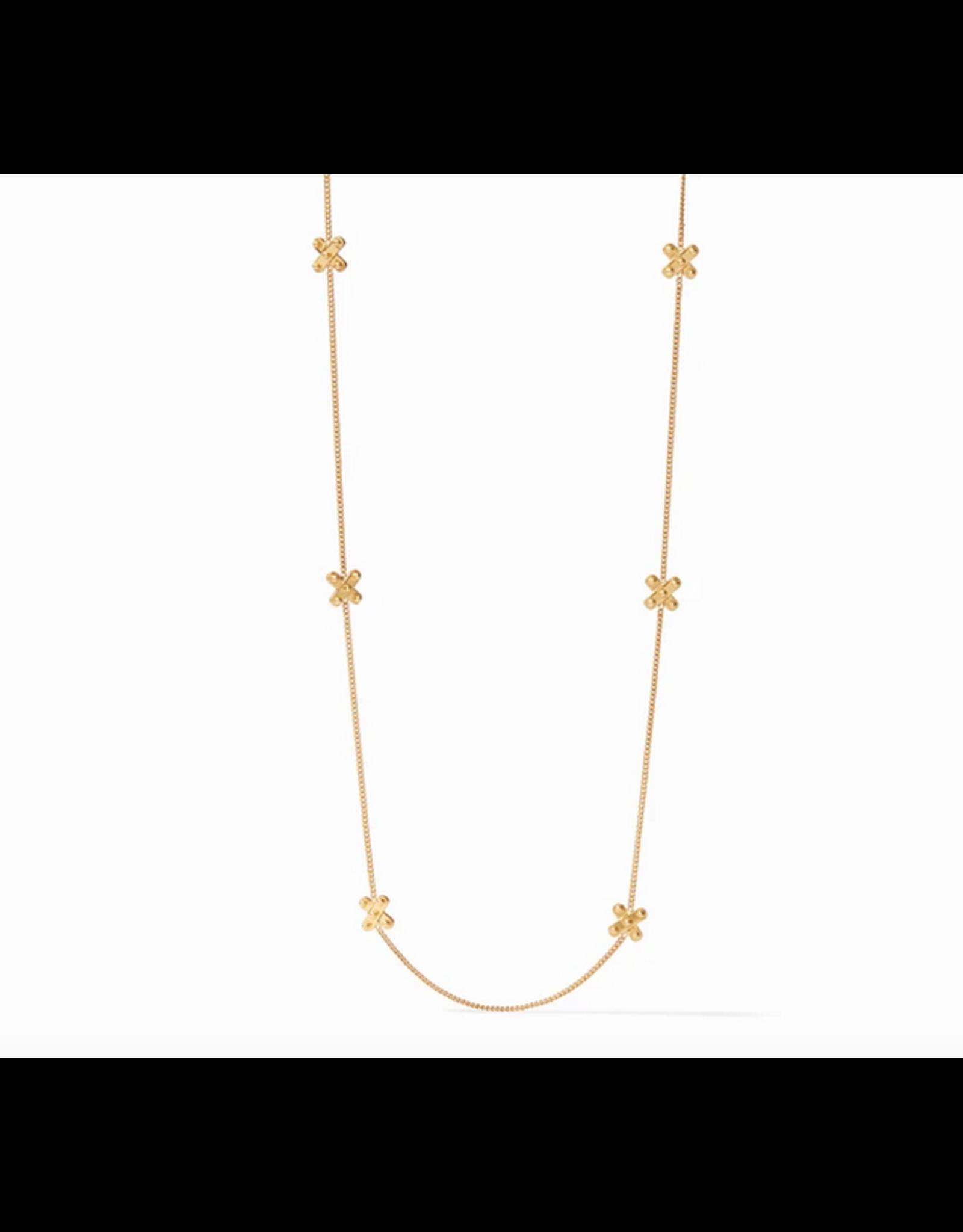 Julie Vos SoHo Station Necklace in Gold by Julie Vos