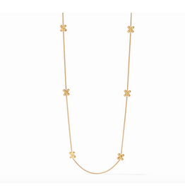 Julie Vos SoHo Station Necklace in Gold by Julie Vos
