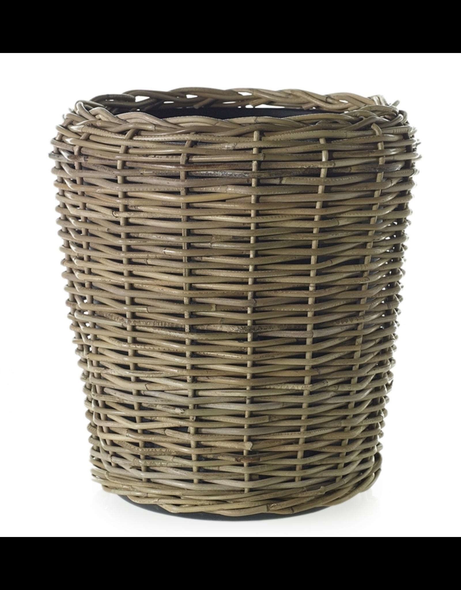 "Rattan Basket 18"" x 19.5"""