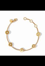 Julie Vos Poppy Delicate Bracelet in Cubic Zirconia by Julie Vos