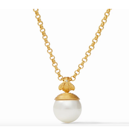Julie Vos Bee with Pearl Pendant by Julie Vos
