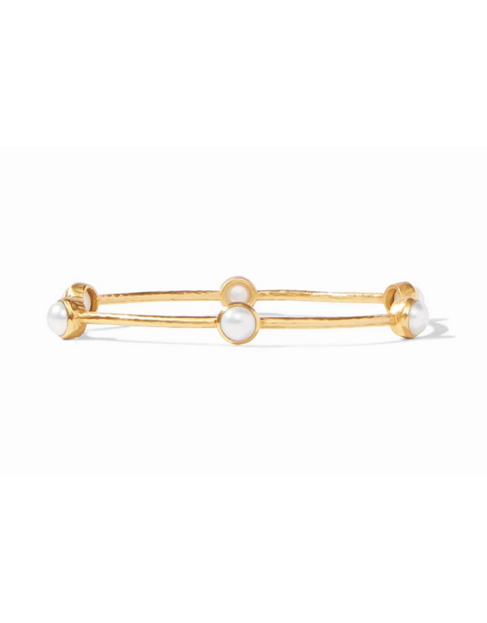 Julie Vos Milano Luxe Bangle in Pearl by Julie Vos