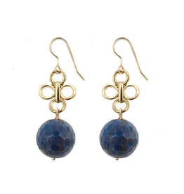 Hazen & Co Ulla Earring in Sodalite by Hazen & Co