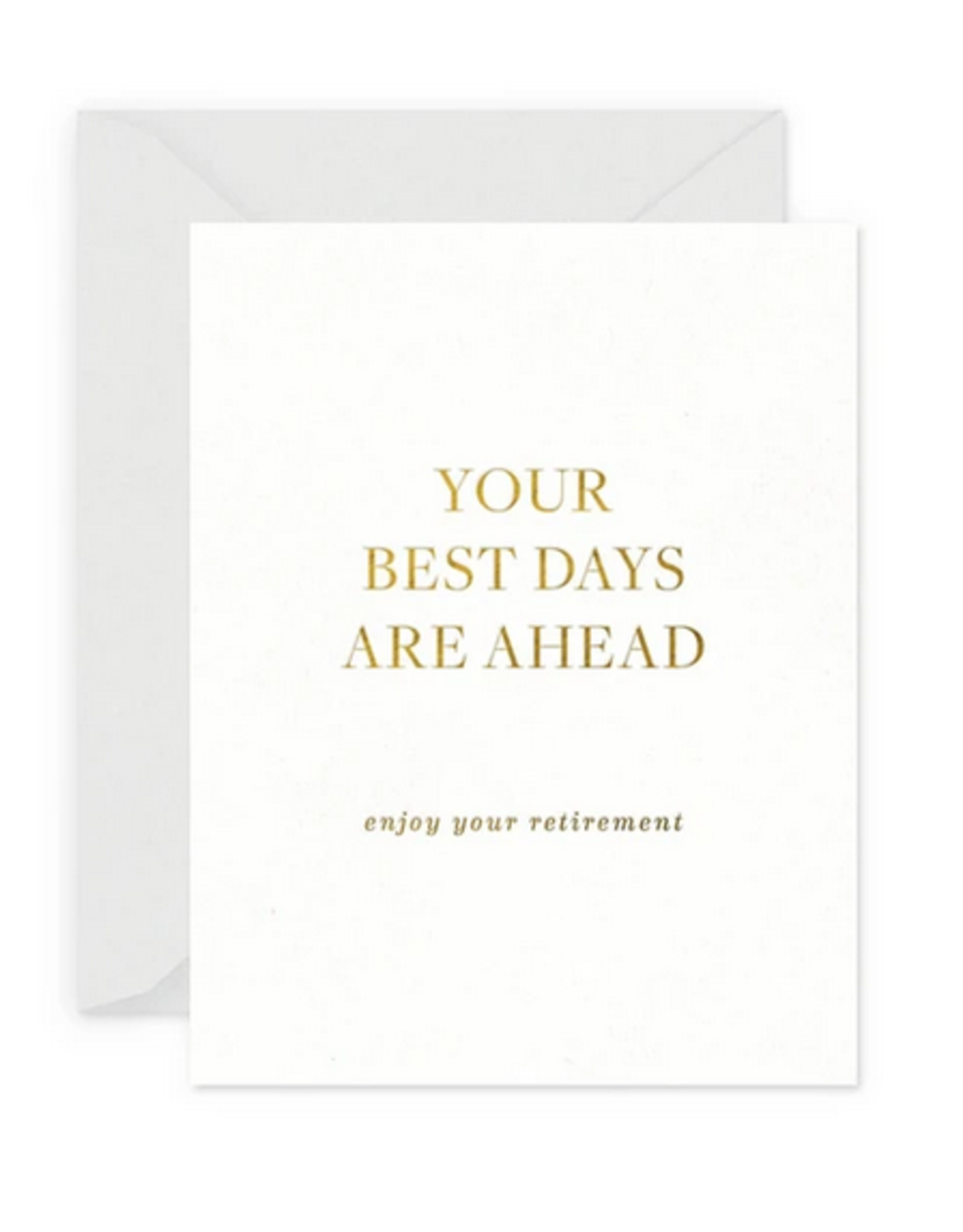 Smitten on Paper Best Days Retirement Greeting Card