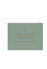 Smitten on Paper Lucky Pet Sympathy Greeting Card