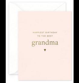Smitten on Paper Grandma Birthday Greeting Card