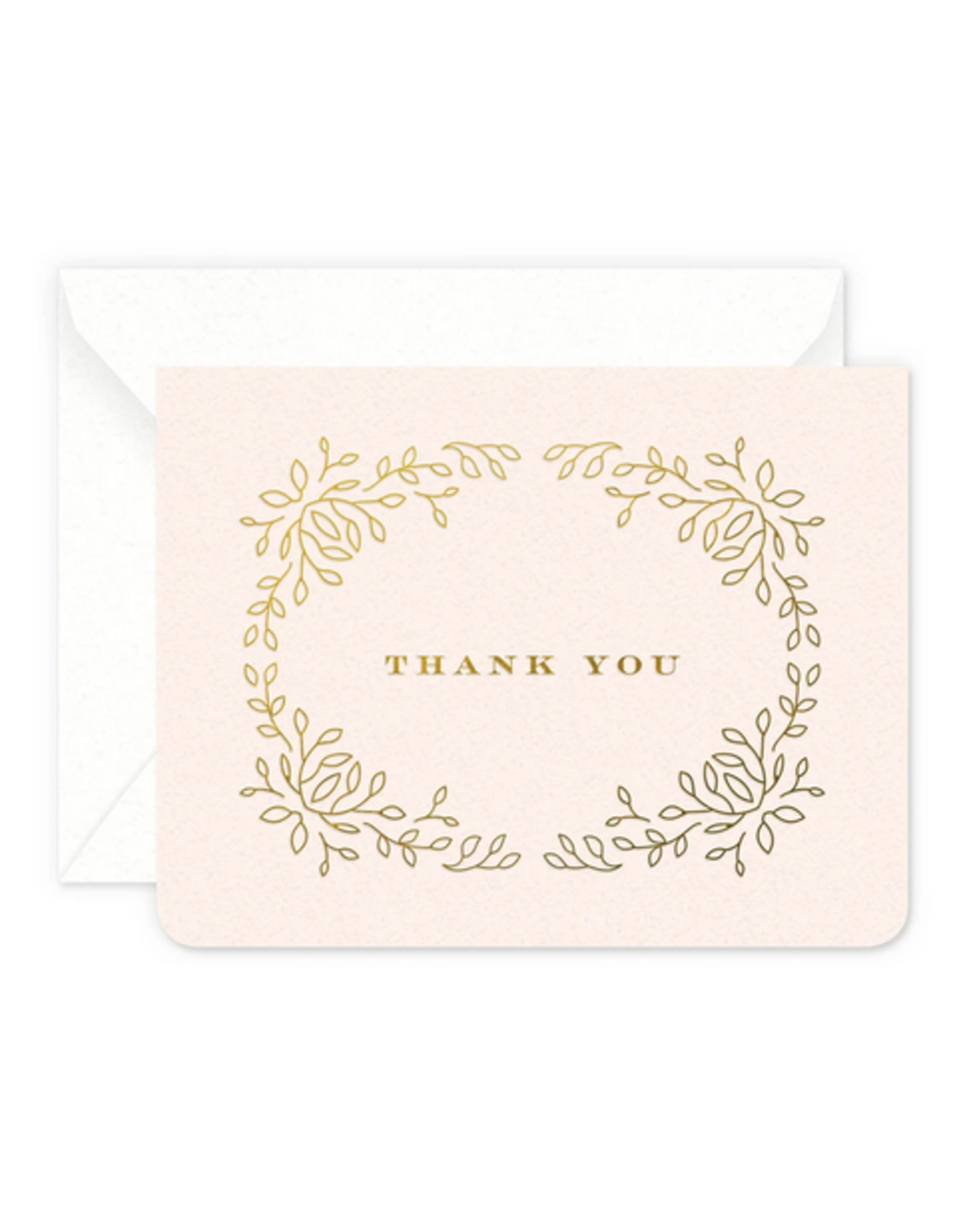 Smitten on Paper Thank You Wreath Greeting Card